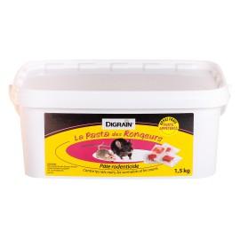 Dératisation, Digrain la Pasta des Rongeurs (1,5 kg) - Rodenticide contre rat, souris, surmulot