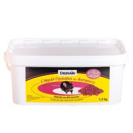 Anti rat surpuissant Digrain l'Appât Céréales des Rongeurs Raticide (1,5 kg) - Rats & surmulots