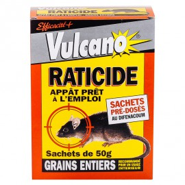 Vulcano Raticide Grains (500gr)
