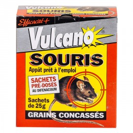 Vulcano Souricide Raticide Avoine Decortiquees  (150gr)