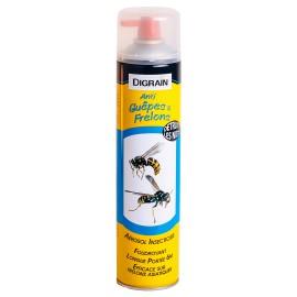 Aérosol insectiside à effet choc foudroyant Digrain produit Anti-Guêpes et Frelons (750 ml)