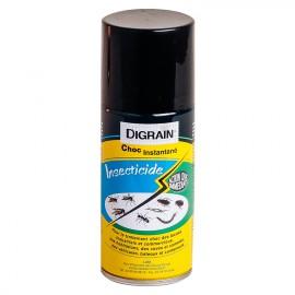 Insecticide Digrain Choc Instantané (150 ml) - Produit insecticide contre insectes volants & rampants