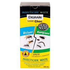 Laque insecticide choc (500 ml) Digrain - Produit Anti insectes volants & rampants