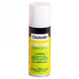Pyrèthre Aérosol Digrain  (200 ml) - Anti insectes rampants & volants
