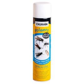 Aérosol insectiside à effet choc foudroyant Digrain Volants (600 ml) - Anti guêpe, frelon, moustique, mouche et autres volants…