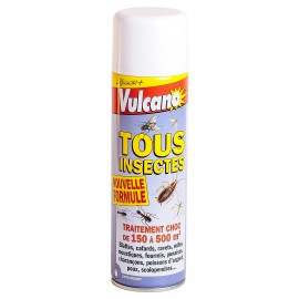 Vulcano Tous Insectes One Shot (500ml) - Insectes volants & rampants