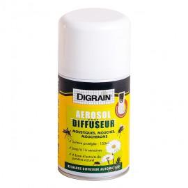 Recharge Aérosol pour Diffuseur Digrain  (250 ml) - Anti Moustique