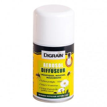 Digrain Recharge Aérosol pour Diffuseur (250 ml)