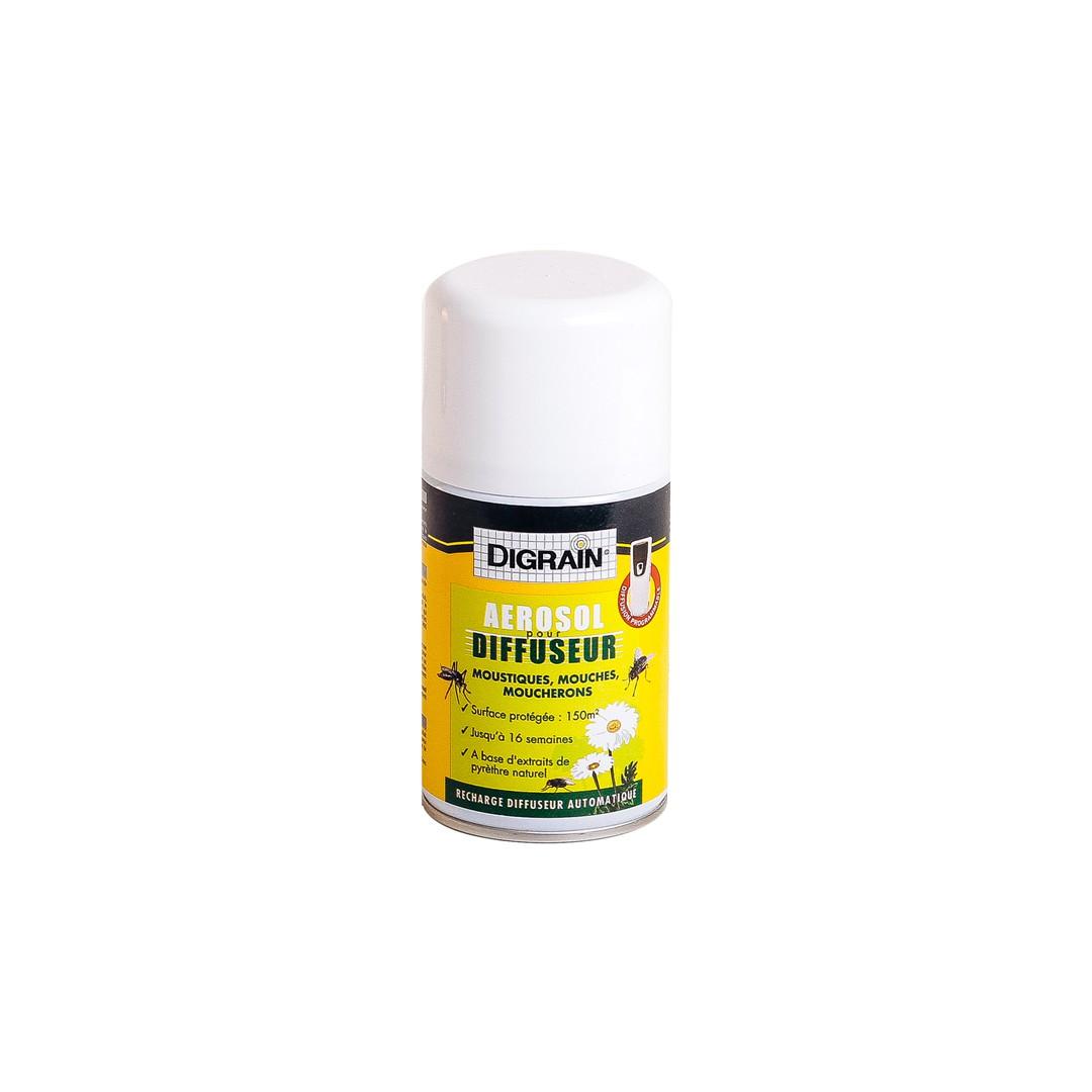 recharge anti moustique diffuseur digrain 250ml eradicateur. Black Bedroom Furniture Sets. Home Design Ideas