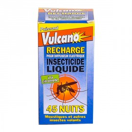 Vulcano Insecticide Liquide (Recharge) - Anti moustiques & Insectes volants