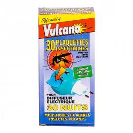 Vulcano Plaquettes Insecticides (Recharge) - Anti moustiques & Insectes volants