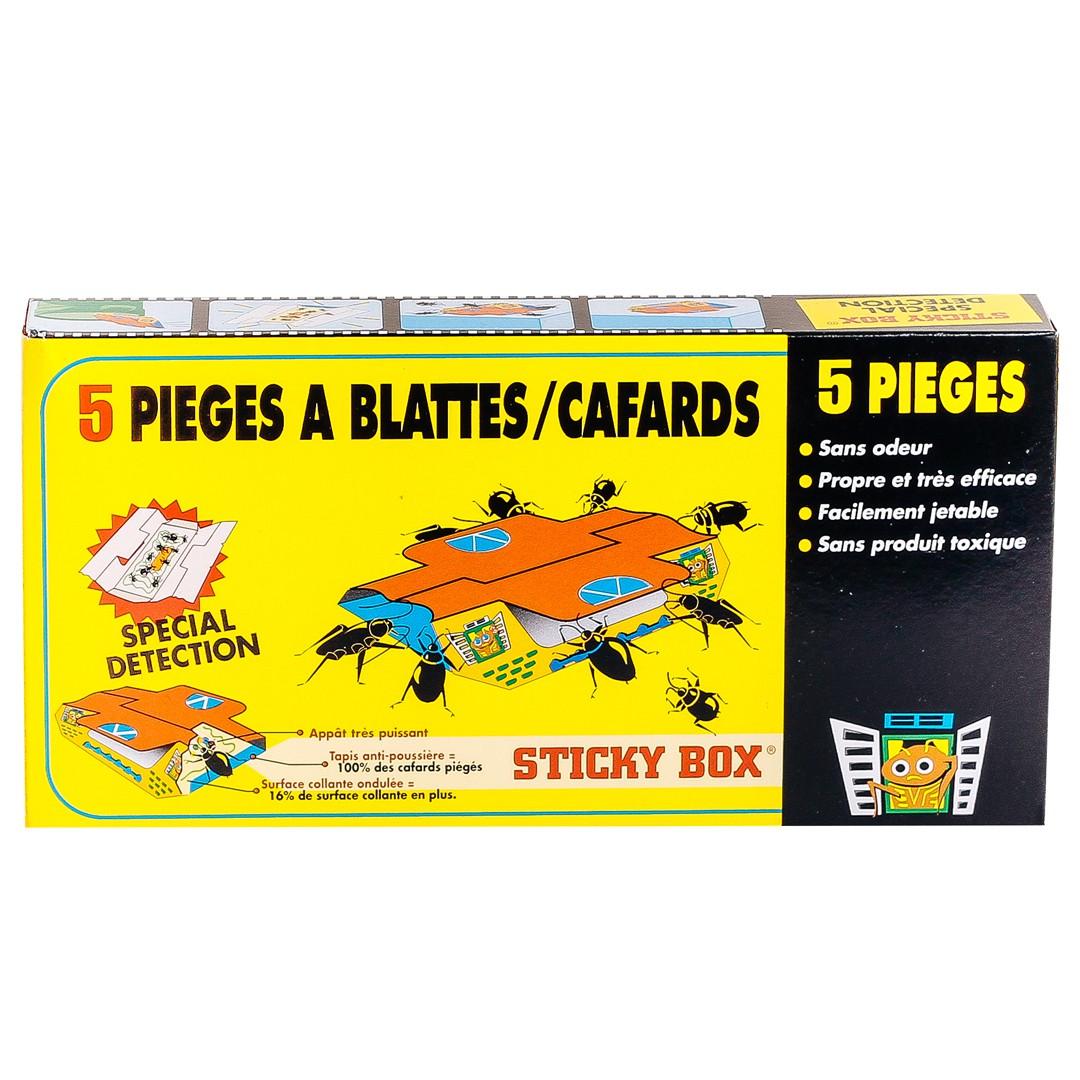 Quel Produit Pour Tuer Les Blattes piège à blatte / cafard - produit cafard sticky box- eradicateur