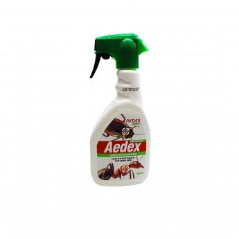 Aedex spray (500 ml) - Anti puces, cafards, acariens et autres insectes rampants